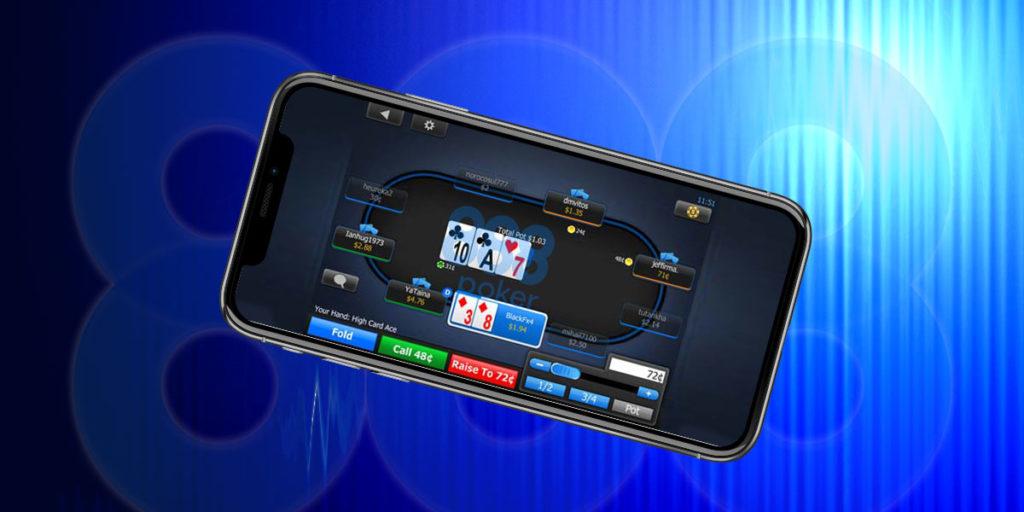 Клиент для мобильного телефона для 888 покер